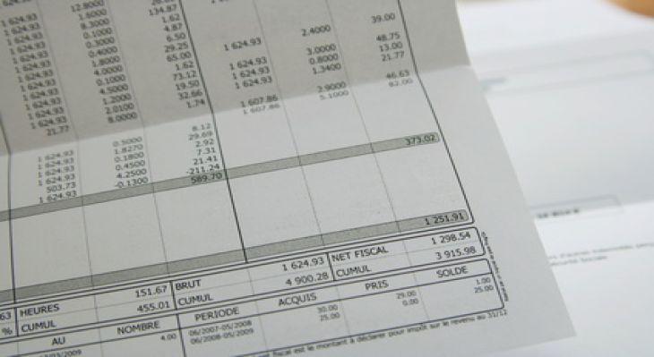 la fiche de paie